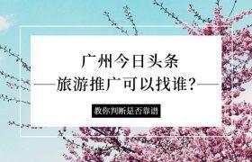 广州今日头条旅游推广可以找谁?靠谱吗?插图
