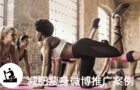 减肥瘦身日均加粉300+,微博信息流广告推广效果好插图