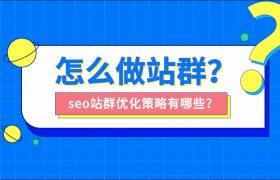 怎么做站群?seo站群优化策略有哪些?插图