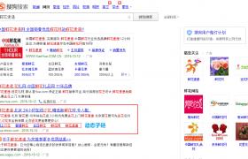 PC端截屏sogou动态性子链广告宣传款式插图